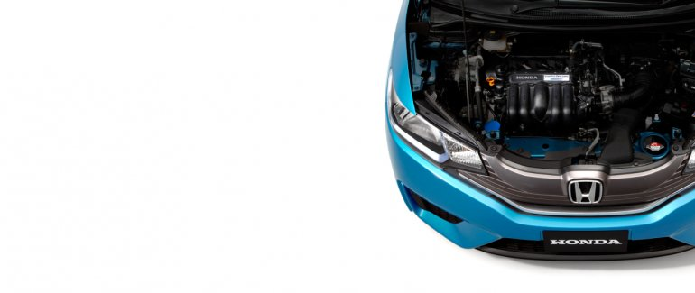 2014 Honda Jazz Fit engine