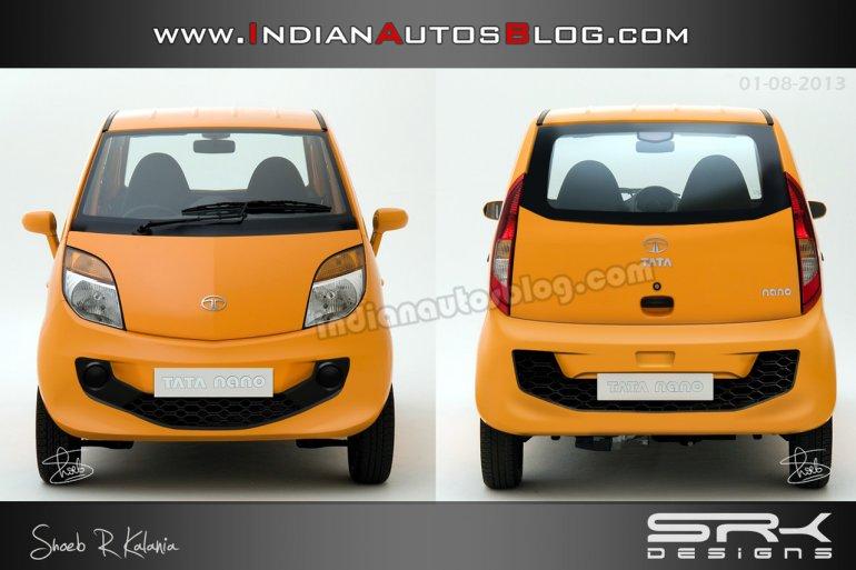 2014 Tata Nano diesel rendering