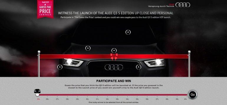 Audi Q3 S Website