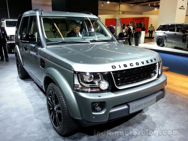 2014 Land Rover Discovery Front Left