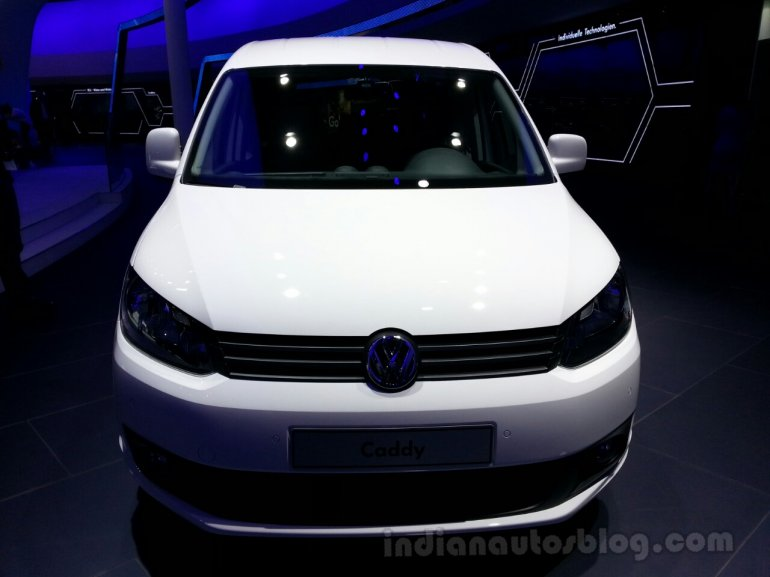 2014 VW Caddy BlueMotion Front