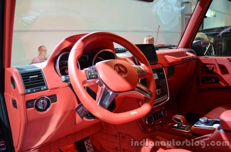 Interior of the Brabus B63S-700 6x6