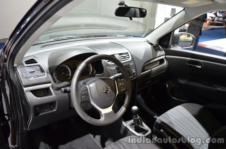 Interior of the Suzuki Swift 30 Jahre Edition