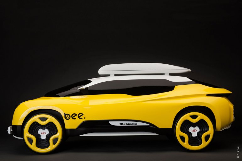 Mahindra Bee Concept side