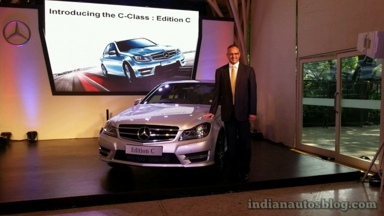 Mercedes-Benz C Class Edition C India