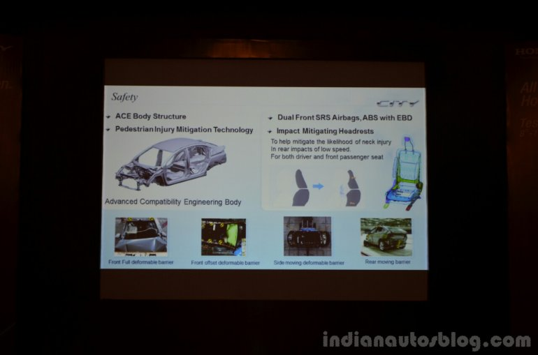 2014 Honda City tech specs body 2