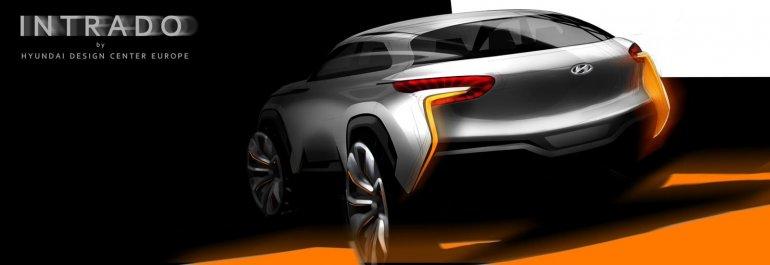 Hyundai Intrado concept teaser