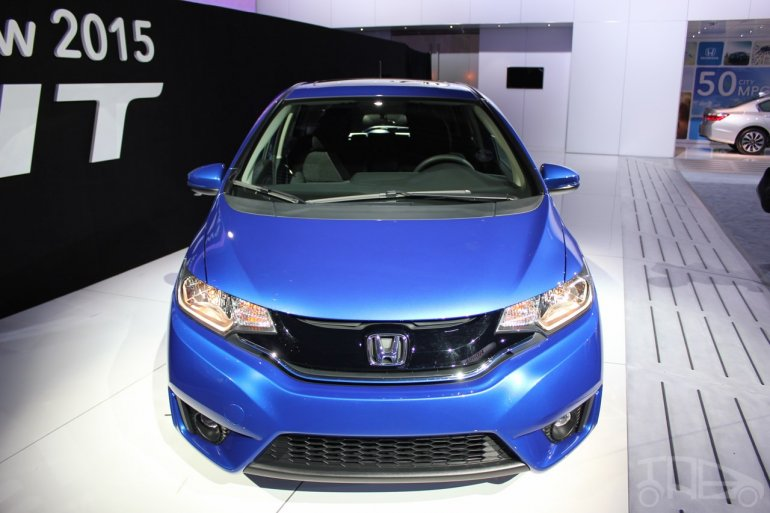 2015 Honda Fit at 2014 NAIAS front fascia
