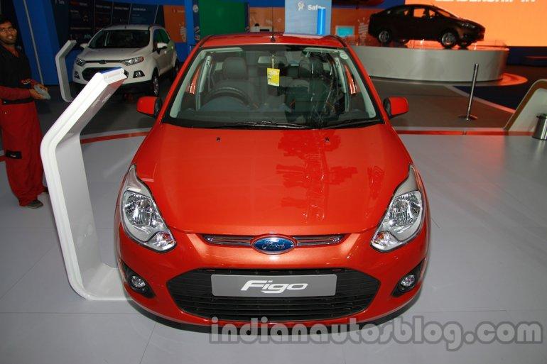 2014 Ford Figo front at 2014 Auto Expo