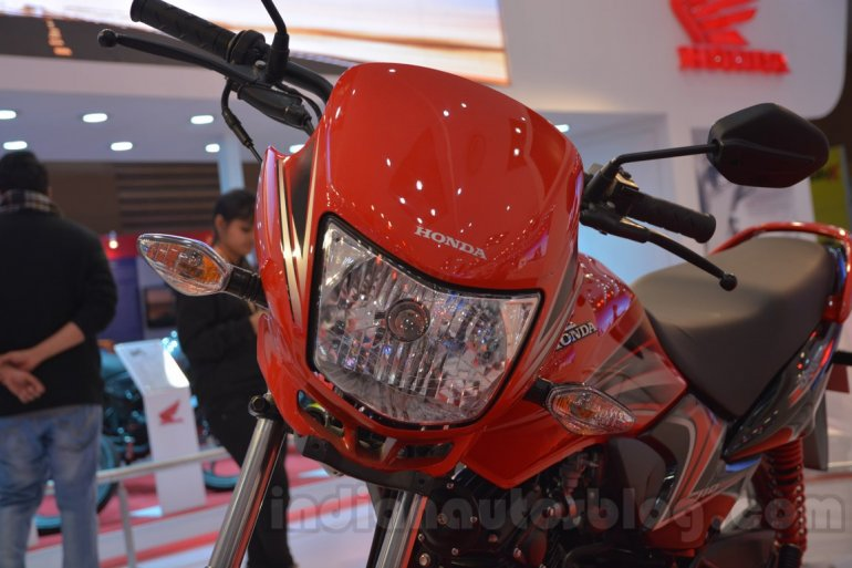 2014 Honda Dream Yuga headlamp live