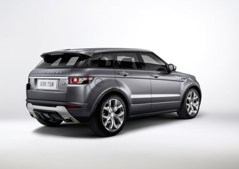 2015 Range Rover Evoque Autobiography Press Shot rear