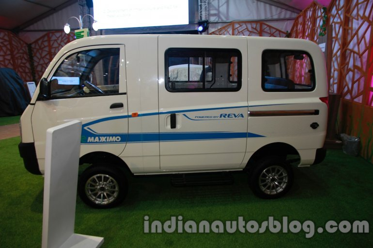 Mahindra Maxximo electric Auto Expo side