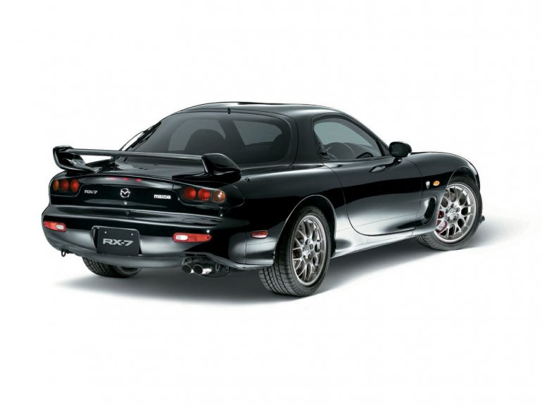 Mazda RX-7 rear press image