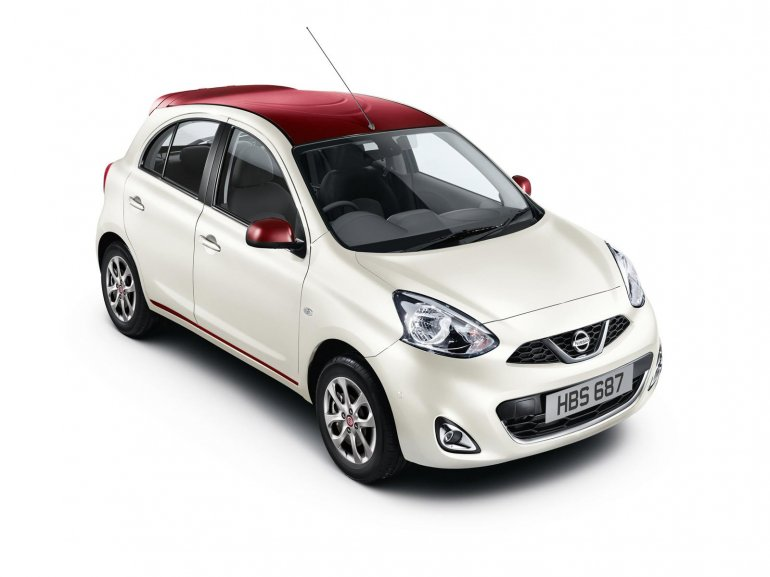 Nissan Micra Limited Edition UK white