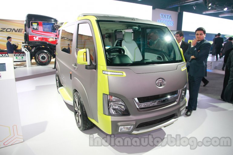 Tata ADD Venture Concept front three quarters