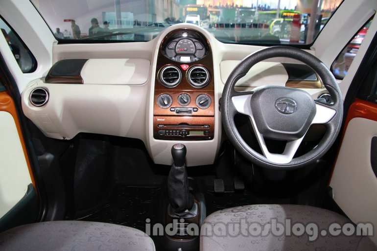 Tata Nano Twist Active Concept dashboard