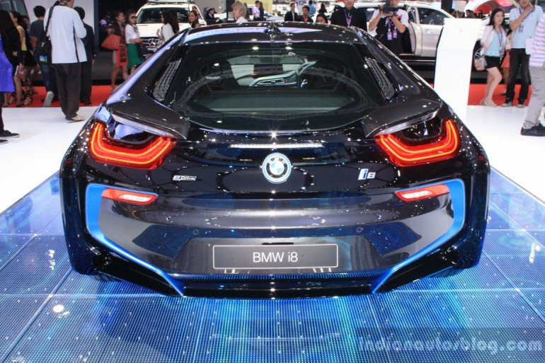 BMW i8 at 2014 Bangkok Motor Show rear
