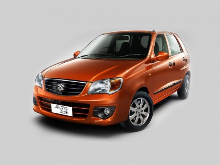 Maruti Alto K10 front three quarter press shot