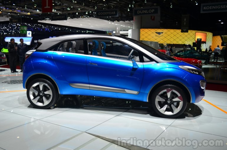 Tata Nexon Concept profile at Geneva