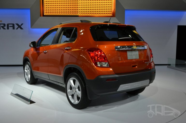 2015 Chevrolet Trax at 2014 New York Auto Show - rear three quarter