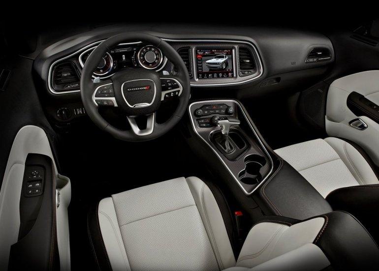 2015 Dodge Challenger dashboard press shot