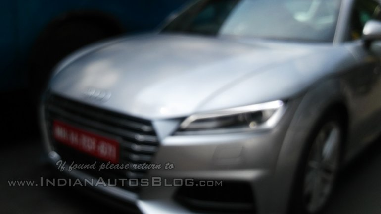 2015 Audi TT spotted in India May 2014 front