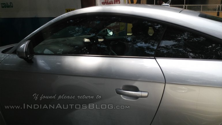 2015 Audi TT spotted in India May 2014 side