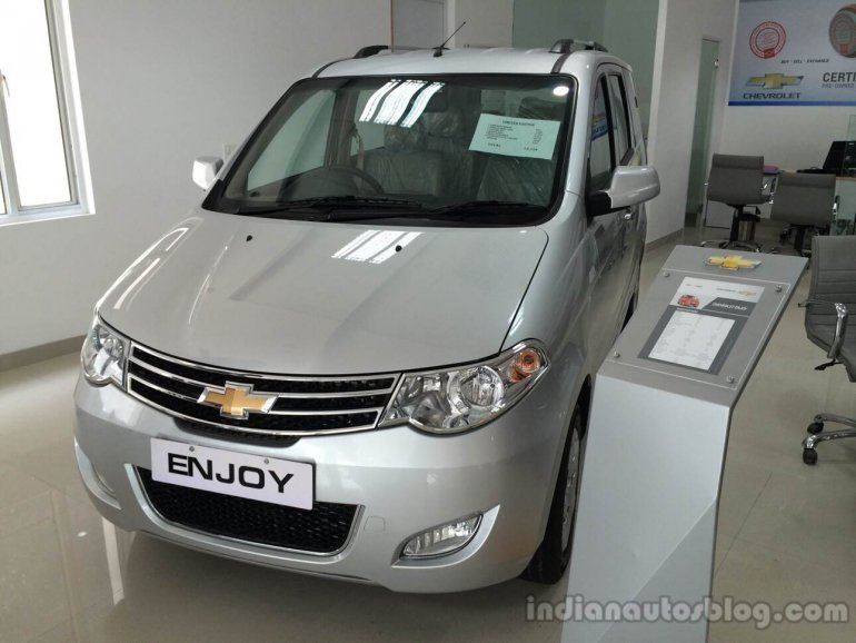 Chevrolet Enjoy 1st Anniversary Edition front three quarters