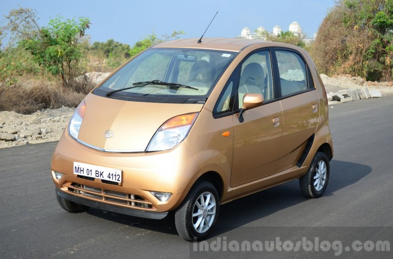 Tata Nano Twist Review front quarter