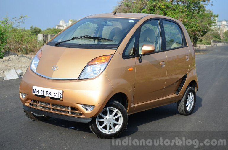 Tata Nano Twist Review front quarters