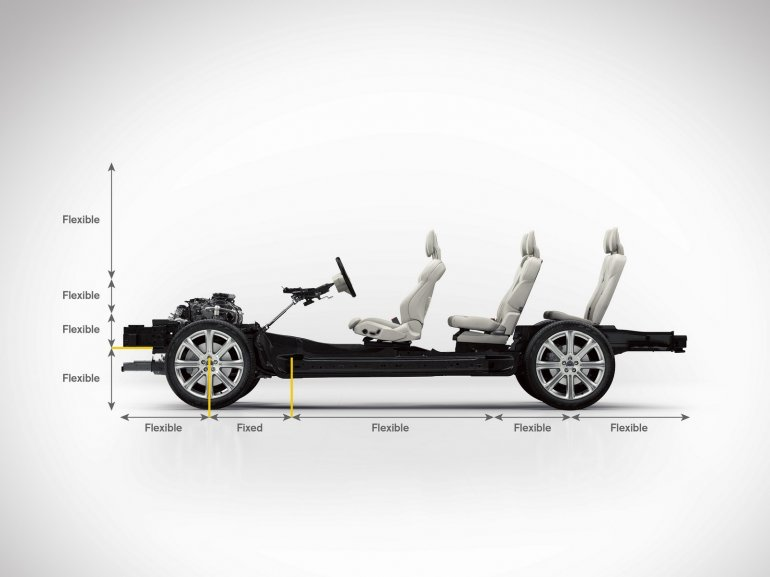 2015 Volvo XC90 SPA seating arrangement