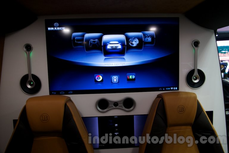 BRABUS Business Lounge at the 2014 Moscow Motor Show TV