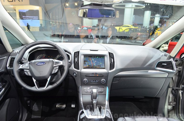 2015 Ford S-Max interior at the 2014 Paris Motor Show