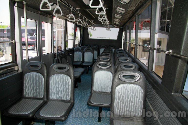 Tata Motors Commercial Vehicles 8 future ready offerings ...  |Tata Prima Bus Interior