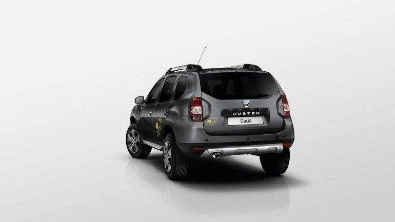 Dacia Duster Air rear official image