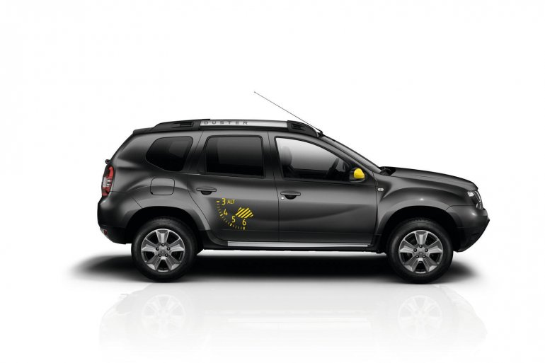 Dacia Duster Air side official image