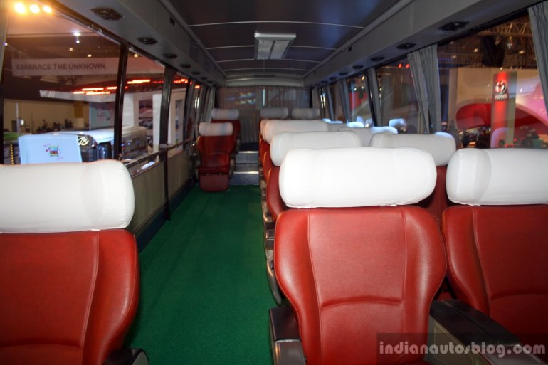 Daewoo Bus BF 106 seats at the Philippines International Motor Show 2014