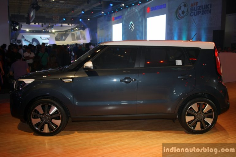 Kia Soul rear three quarter at the CAMPI 2014