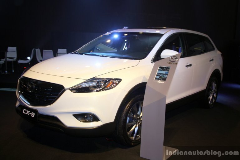 Mazda CX-9 at the Philippines International Motor Show 2014