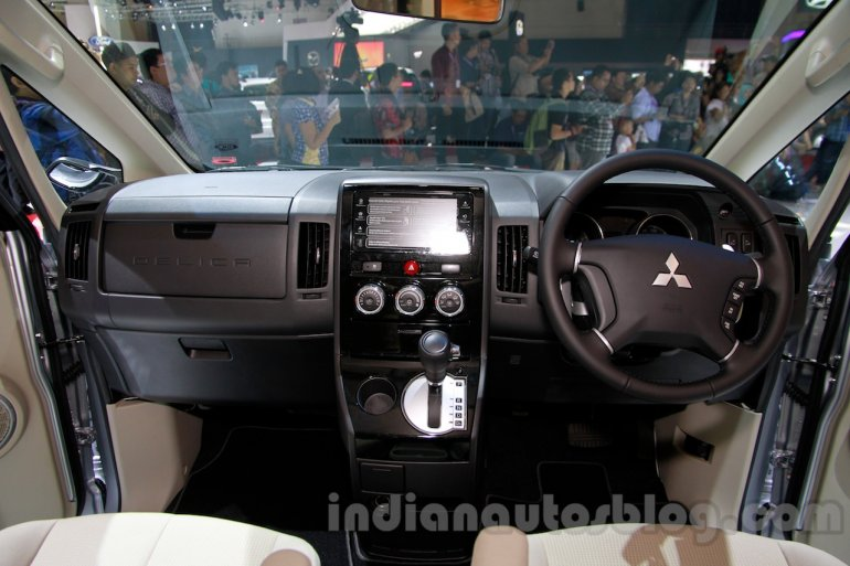 Mitsubishi Delica at the 2014 Indonesia International Motor Show interior