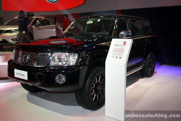 Nissan Patrol Super Safari at the Philippines International Motor Show 2014