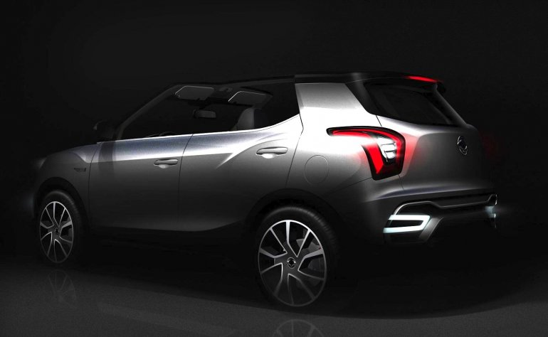 Ssangyong XIV-Air rear teaser