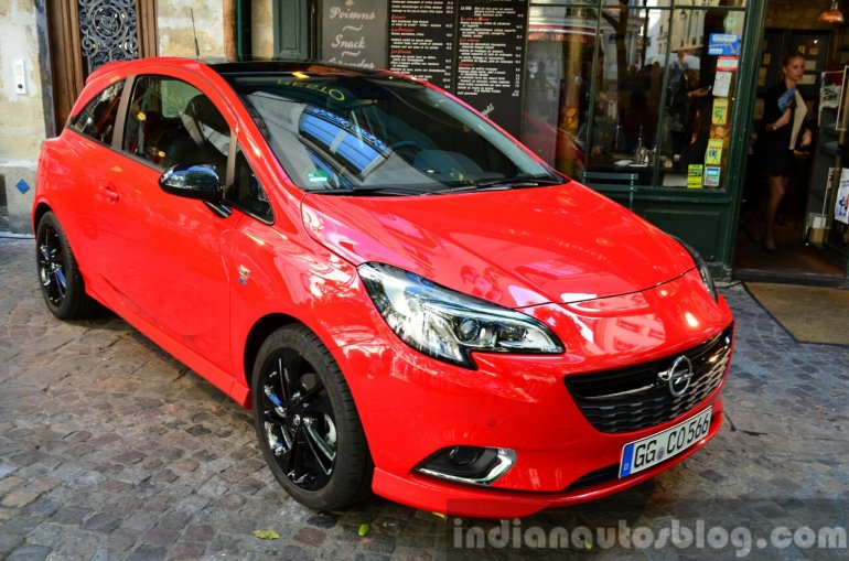 2015 Opel Corsa 3-door at the 2014 Paris Motor Show