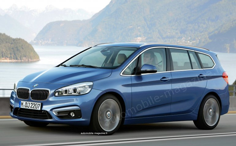 BMW 2 Series Active Tourer MPV rendering