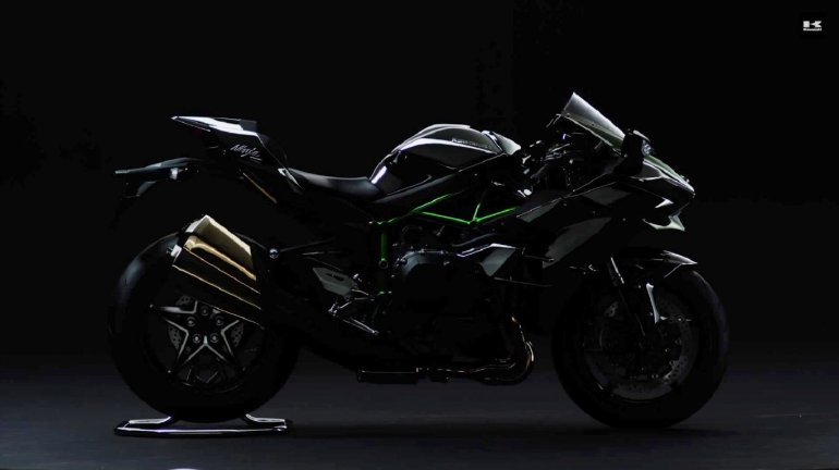 Kawasaki Ninja H2 road legal bike teaser
