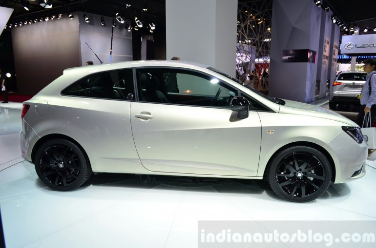 Seat Ibiza 30th Anniversary Edition right side at the 2014 Paris Motor Show
