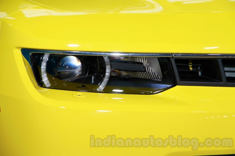 Chevrolet Camaro RS Limited Edition headlight at 2014 Guangzhou Auto Show
