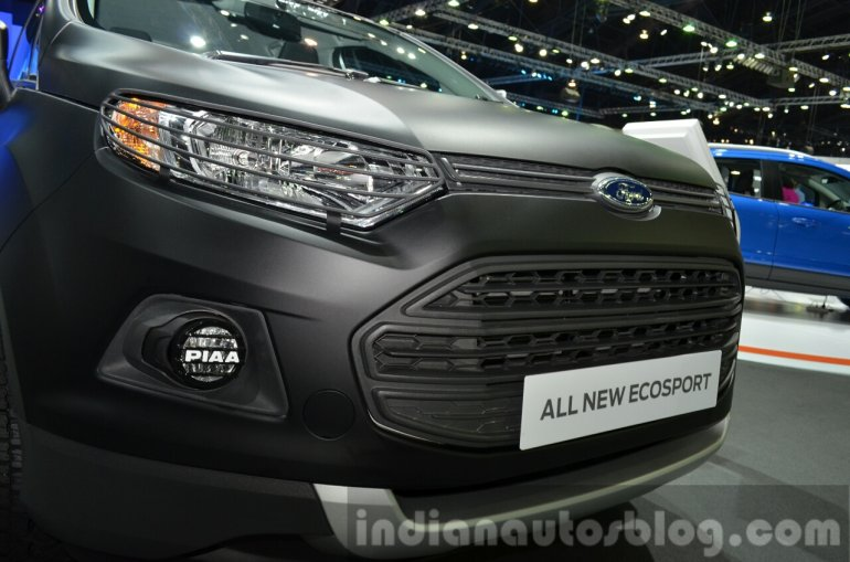 Ford EcoSport nose at the 2014 Thailand Motor Expo