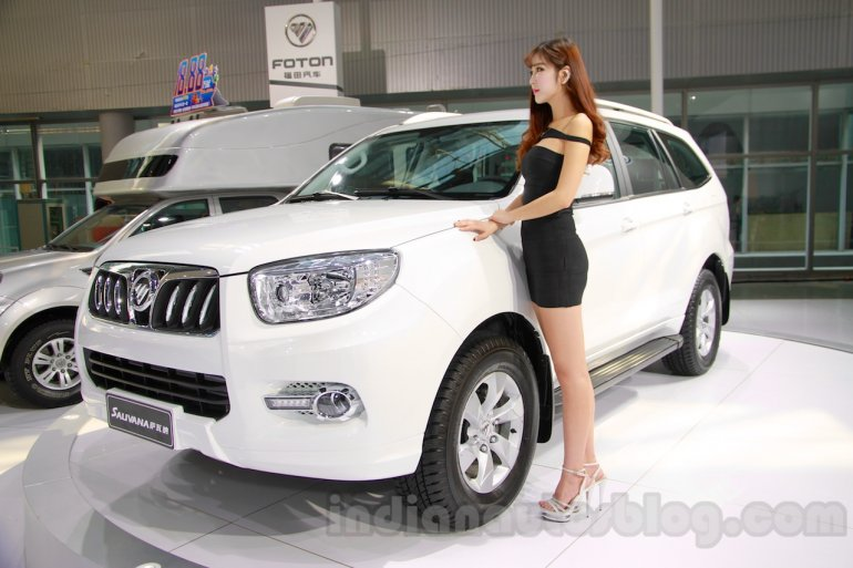 Foton Sauvana front three quarters at the 2014 Guangzhou Auto Show