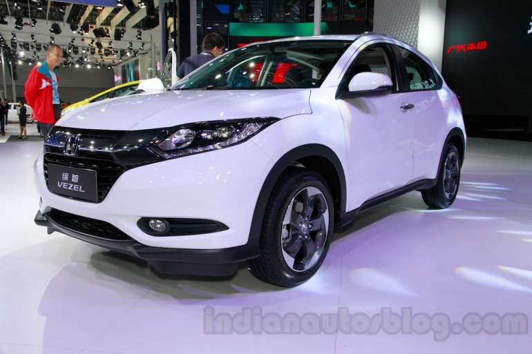 Honda Vezel front at the Guangzhou Auto Show 2014